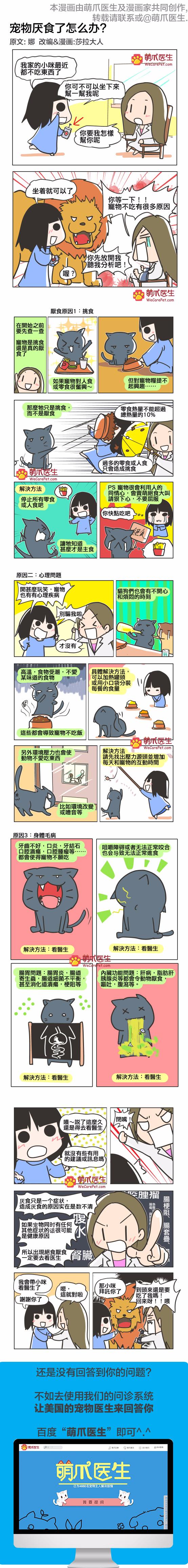 漫画 | 宠物厌食怎么办?